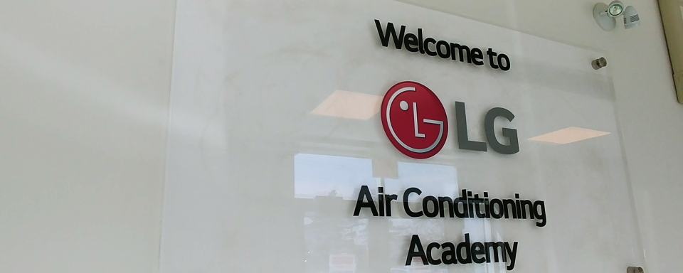 LG Air Conditioning Academy Hero Image